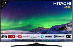 Hitachi Téléviseur LED 43 107,9cm 4K Ultra HD