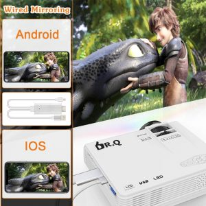 Avis Mini Vidéoprojecteur HI-04 DR.Q 3800 Lumens