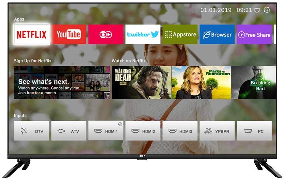 Smart TV 43'LED - CHiQ U43H7L - UHD4k