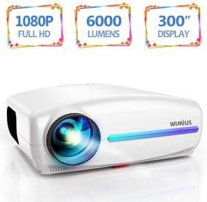 Vidéoprojecteur WiMiUS 6000 Lumens