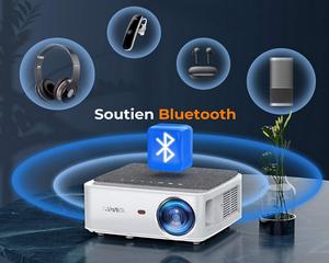 Avis et test sur le vidéoprojecteur Wifi Bluetooth Yaber V6