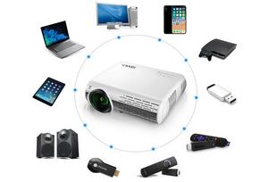 Avis et test sur le vidéoprojecteur Yaber 7000 Lumens Full HD