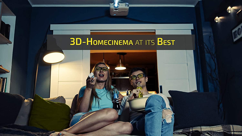 lunettes 3D Hi-Shock BT Pro
